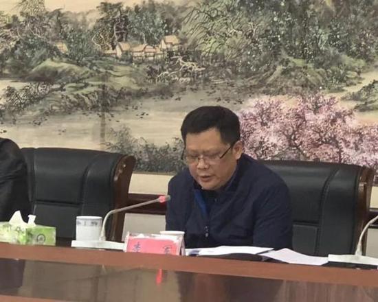 衡南县委副书记、县长、县禁毒委主任李军