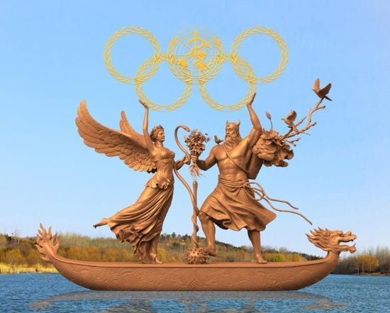 《奥林匹克健康颂》东方版 作者:黄剑