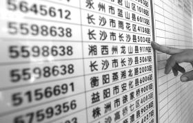 2月26日,湖南省福利彩票发行中心,工作人员介绍,去年有彩民在长沙县5034站购买彩票中了大奖却没有认领。 图/记者华剑