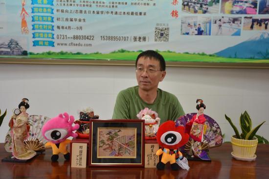 长沙外国语学校国际部主任刘福明