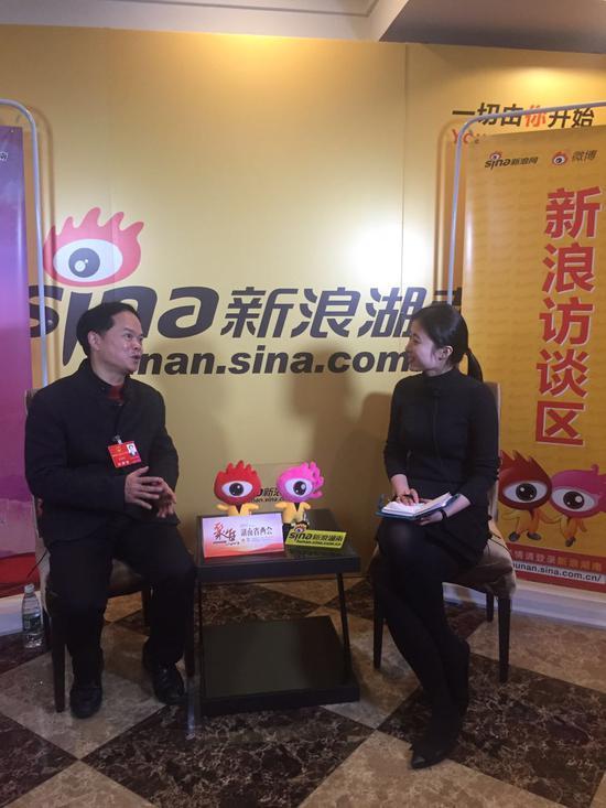 湖南省人大代表李国武接受新浪湖南专访