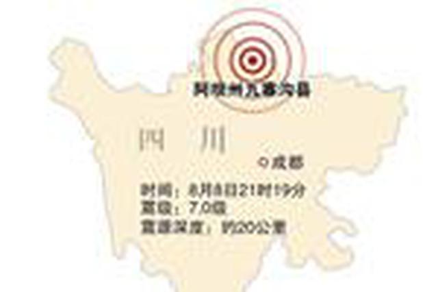 湖南游客亲历九寨沟地震:刚走出景区门口就震了