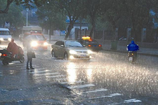 雨雨雨!湖南多地发布暴雨、雷电预警 请注意防范