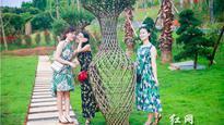 """郴州90后美女志愿者:我们要为家乡紫薇花节""""代言"""""""