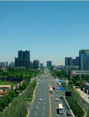 湘潭莲城大道提质改造后旧貌换新颜