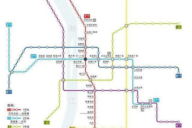 长沙地铁5号线公布新站名 老长沙味浓