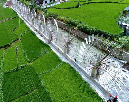 郴州桂东水能发电站试发电成功