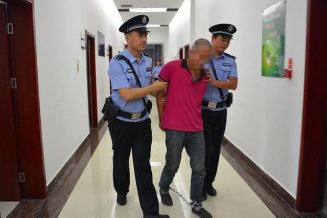 犯罪嫌疑人吴某被抓获 花垣县公安局政工室 供图