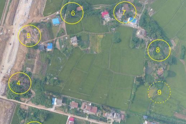湖南南县考古发现九座古炮台 呈圆形环绕疑似古城遗址