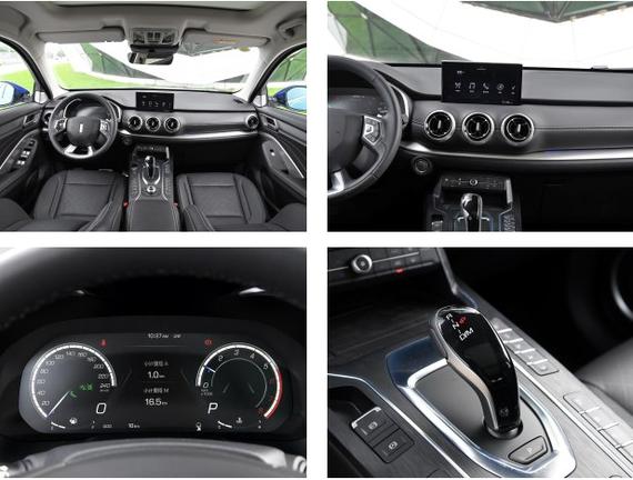 全液晶仪表盘信息显示很清晰,集成的功能也很先进,自适应巡航和自动跟车等功能全部涵盖。空调按钮下面还加装了无线充电功能,而在电子档把的右侧,集成了5种四驱模式。