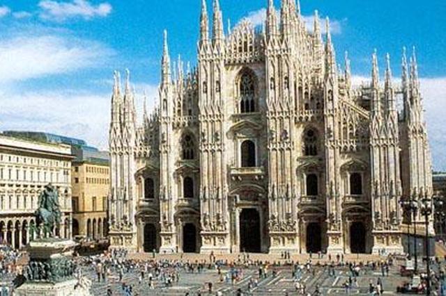 意大利地名首用华人姓名命名 何凤山广场在米兰揭牌
