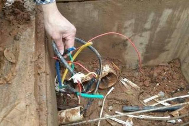 常德一公司十多万元电缆被盗 系包工头监守自盗