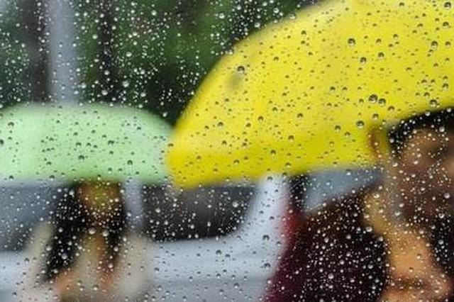 湖南昨晚到今晨平均降雨12.9毫米 集中在湘潭岳阳娄底