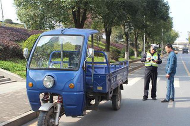 常德1000余起电摩车摩托车违法被查处