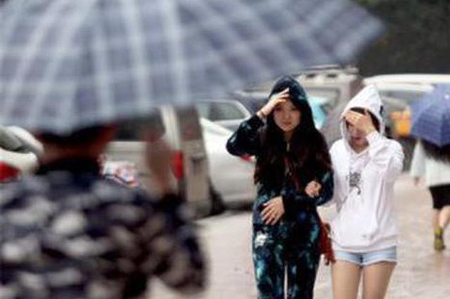 """湖南强降雨今天会""""歇气"""" 最高降温12℃"""
