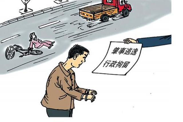 岳阳市19岁男子无证驾驶肇事逃逸终被拘