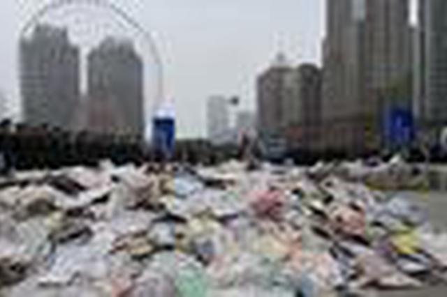 湖南集中销毁一批侵权盗版及非法出版物