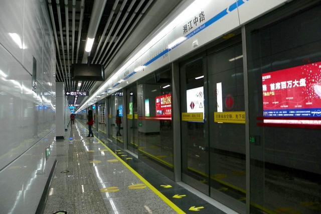 """长沙地铁1、2号线再""""提速""""行车间隔 候车时间进一步缩短"""