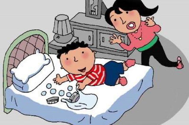 长沙1岁宝宝把奶奶降压药当糖豆吃8粒 口腔高度灼伤