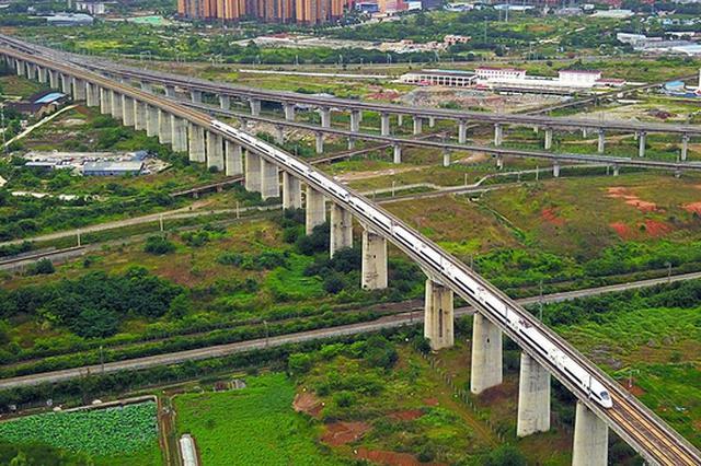 京广铁路湖南段32个车站和供电设施升级改造基本完成