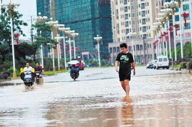 6月6日~9日湖南强降雨 衡阳、永州等12.5万人受灾