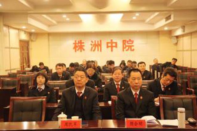 株洲中院兑现执行款4.96亿余元 田立文现场鼓劲打气