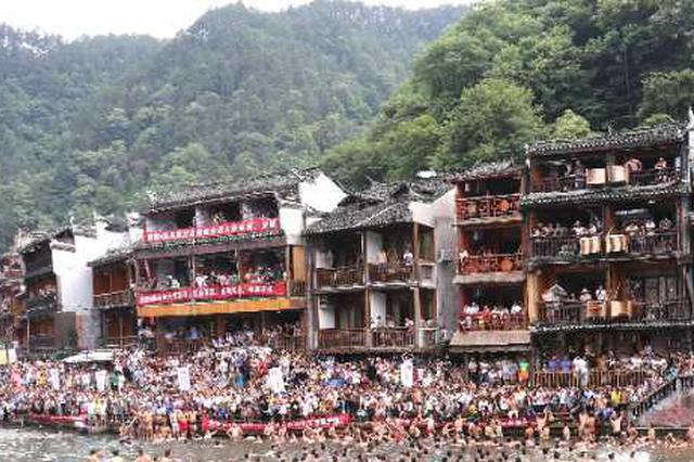 永州零陵古城开街迎客 重现千古名城神韵