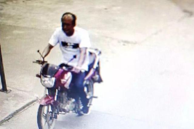 岳阳一男子骑摩托车撞人逃逸事故 警方劝其投案自首