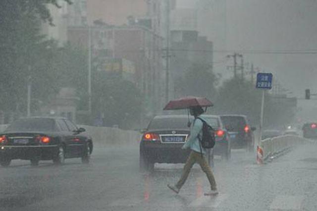 通道县等地农田被淹 今日邵阳永州娄底怀化大雨