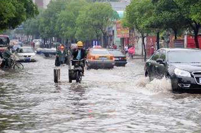 怀化、邵阳等多地强降雨 需防御地质灾害和城市内涝