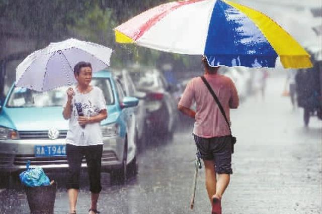 强降雨轮番来袭 长沙进入降雨集中期