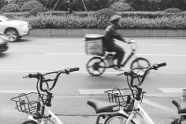 共享电单车快不能骑了 年底将在长沙街头消失