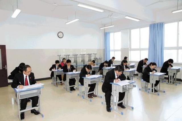 湖南举行第二次员额法官遴选考试 910人参加