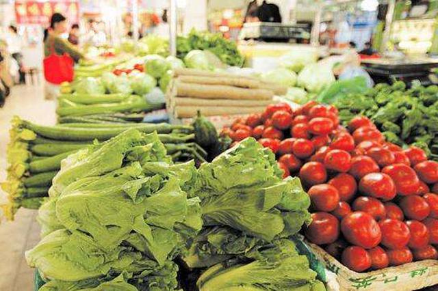 长沙蔬菜价格回落 肉蛋持续上扬