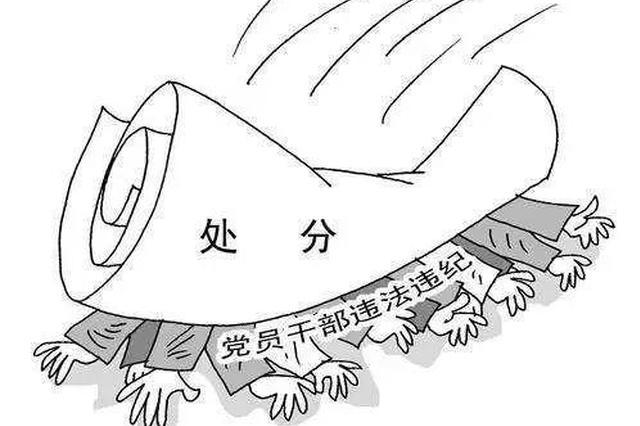 湖南5名厅级干部被开除党籍或公职