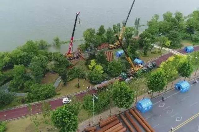 岳阳南津港大堤将破堤施工 将实行交通分流管制