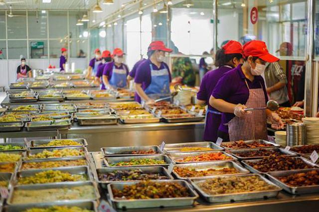 常德武陵区食药监局对学校食堂进行食品安全专项检查