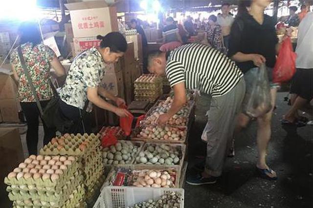 节日临近 岳阳蔬菜水产蛋类价格将以稳定为主