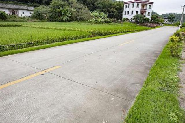 今年湘潭市将完成自然村通水泥路305公里