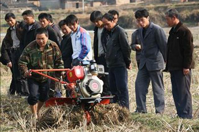 6000万元农机购置补贴惠及湘潭上千农户