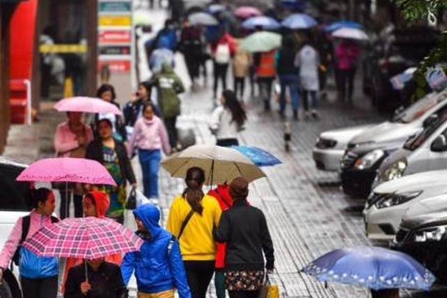 冷空气节后上岗 未来三天湖南小到中雨局地大雨