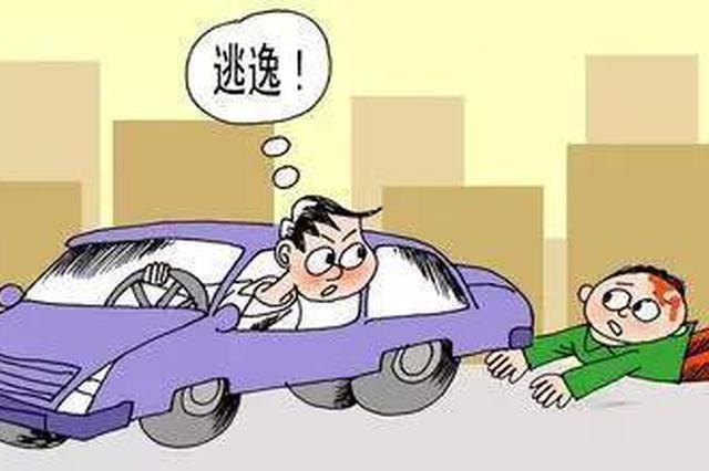 邵阳一男子撞人逃逸拒不赔偿 深夜被拘悔不当初