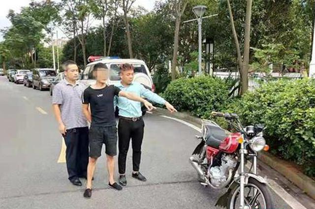 桂阳民警抓获两名摩托车窃贼 追回被盗摩托车4台