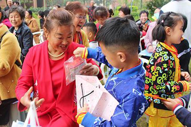 """超萌超有爱 长沙这个社区的爷爷奶奶收获了一拨""""开心果"""""""