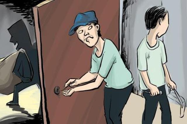 同一小区入室盗窃 岳阳蠢贼再伸手被抓正着
