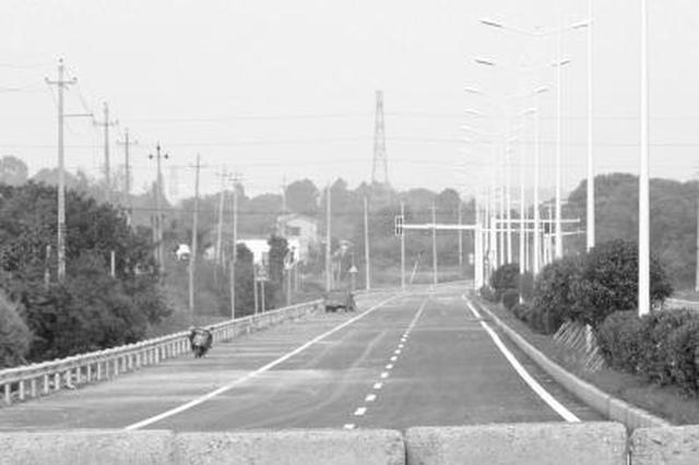 岳宁大道全线通车时间一再推迟 回应是由于道路问题