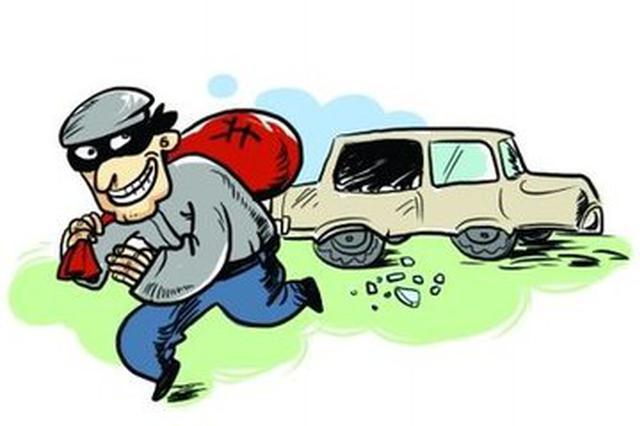 """常德""""瘾君子""""砸车盗窃30余起 连半包纸都不放过"""