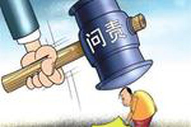 """永州江永:""""两个责任""""落实不力 7人被问责"""