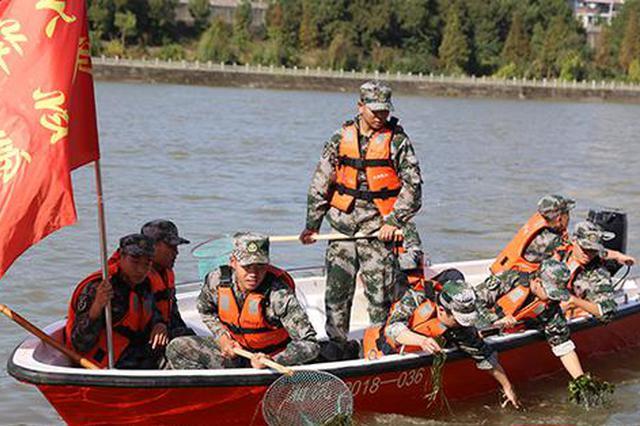 邵陽:軍隊地方攜手保護母親河