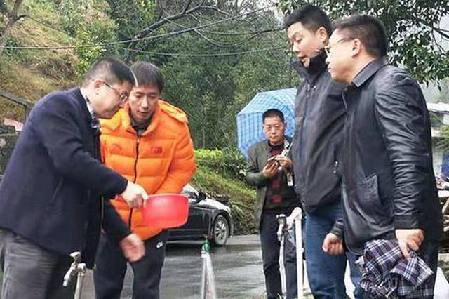 吉首市栗溪村:城市自来水工程项目通水运行